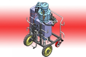 سیستم پمپ قدرتمند دو جزیی با نسبت قابل تنظیم